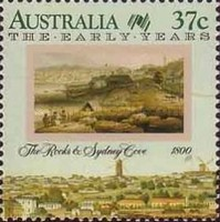[The 200th Anniversary of the Colonization of Australia - The Early Years, 1788-1809, type AKD]