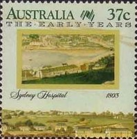[The 200th Anniversary of the Colonization of Australia - The Early Years, 1788-1809, type AKE]