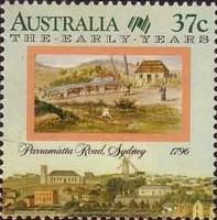 [The 200th Anniversary of the Colonization of Australia - The Early Years, 1788-1809, type AKF]