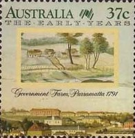 [The 200th Anniversary of the Colonization of Australia - The Early Years, 1788-1809, type AKH]