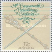 [The 34th Anniversary of the Commonwealth Parliamentary Conference, type AKX]