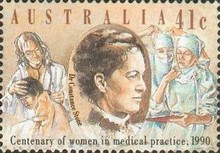 [The 100th Anniversary of the Women in Medical Practice, type ANF]