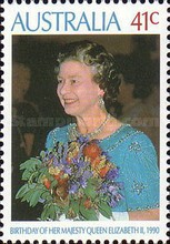 [The 64th Anniversary of the Birth of Queen Elizabeth II, type ANU]