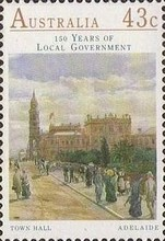 [The 150th Anniversary of the Local Government, type AOT]