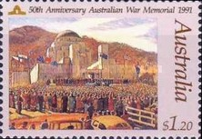 [The 50th Anniversary of The Women`s Warfare Services, The 50th Anniversary of The Siege of Tobruk, The 50th Anniversary of The Australian War Memorial, type APH]