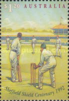 [The 100th Anniversary of Sheffield Shield Cricket Games, 1892-1992, type ASF]
