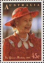 [The 67th Anniversary of the Birth of Queen Elizabeth II, type AST]
