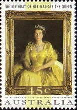 [The 68th Anniversary of the Birth of Queen Elizabeth II, type AUP]
