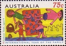 [International Year of the Family, type AUS]