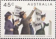[The 100th Anniversary of Votes for Women, type AVA]