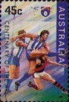 [The 100th Anniversary of the Australian Football League, type AYO1]