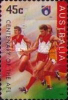 [The 100th Anniversary of the Australian Football League, type AYQ1]