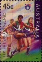 [The 100th Anniversary of the Australian Football League, type AYY1]