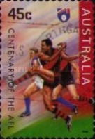 [The 100th Anniversary of the Australian Football League, type AZB1]