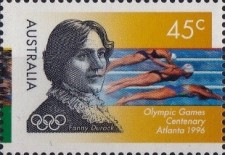 [The 100th Anniversary of Modern Olympic Games - Olympic and Paralympic Games - Atlanta, type AZI]