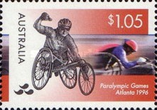 [The 100th Anniversary of Modern Olympic Games - Olympic and Paralympic Games - Atlanta, type AZK]