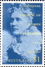 [The 100th Anniversary of the National Council of Women, 1896-1996, type AZR]