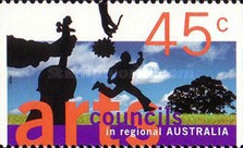 [The 50th Anniversary of the Councils in regional Australia, type AZV]