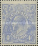 [King George V, type B14]