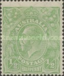 [King George V - Different Watermark, type B17]