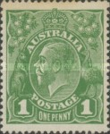 [King George V - Different Watermark, type B20]