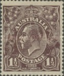 [King George V - Different Watermark, type B21]
