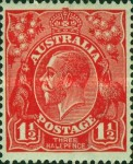 [King George V - New Colors, type B23]