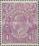 [King George V - New Colors, type B27]