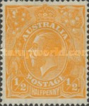 [King George V - New Watermark, type B41]