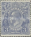 [King George V - New Watermark, type B45]