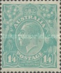 [King George V - New Watermark, type B48]