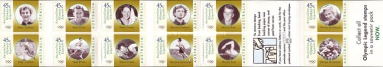 [Olympic Legends - Self-adhesive, type BCZ1]