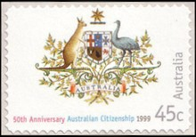 [The 50th Anniversary of Australian Citizenship - Self-Adhesive, type BFD1]