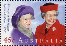 [The 73rd Anniversary of the Birth of Queen Elizabeth II, type BFW]