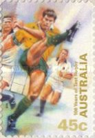 [The 100th Anniversary of the Participation in International Rugby Championships, type BGD1]