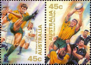 [The 100th Anniversary of the Participation in International Rugby Championships, type BGE]