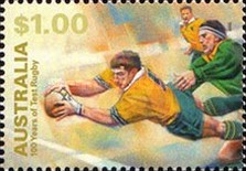 [The 100th Anniversary of the Participation in International Rugby Championships, type BGF]