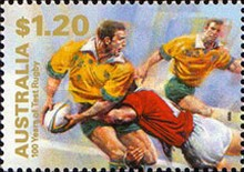 [The 100th Anniversary of the Participation in International Rugby Championships, type BGG]