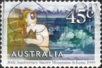 [The 50th Anniversary of the Snowy Mountains Scheme Project, type BGN1]
