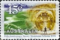 [The 50th Anniversary of the Snowy Mountains Scheme Project, type BGO1]