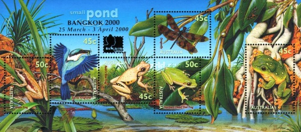 [International Stamp Exhibition BANGKOK, type BHB2]