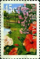 [International Flowers and Gardens Exhibition - Self Adhesive, type BIZ1]