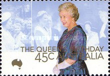 [The 74th Anniversary of the Birth of Queen Elizabeth II, type BJA]