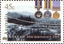 [The 50th Anniversary of the Beginning of the Korean War, type BJB]