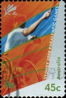 [Paralympic Games - Sydney - Self-Adhesive, type BJU1]
