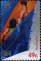 [Paralympic Games - Sydney - Self-Adhesive, type BJV1]