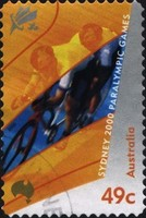 [Paralympic Games - Sydney - Self-Adhesive, type BJW1]