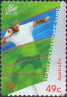 [Paralympic Games - Sydney - Self-Adhesive, type BJX1]