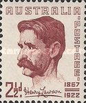 [The 82nd Anniversary of the Birth of Henry Lawson, 1867-1922, type BL]