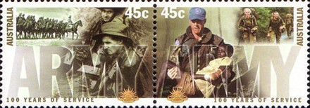 [The 100th Anniversary of the Australian Armed Service, type BMX]